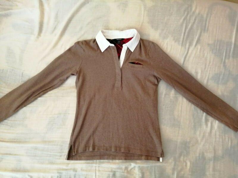 Gant Pullover Braun Gr M 100% Baumwolle Top Neueste Technik