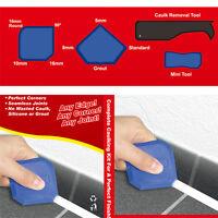 2 Set(8pcs) Silicone Sealant Spreader Spatula Scraper Cement Caulk Removal Tool