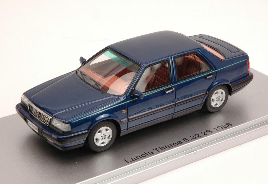 Lancia Thema 8.32 2S 1988 bleu Metallic Limited Edition 250 pcs 1 43 Model