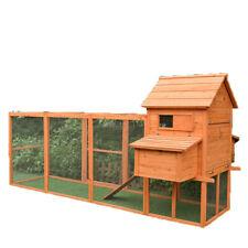 Extra Large 3.1 Meters Wooden Chicken Coop