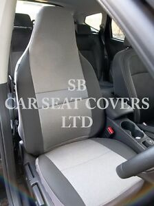 TO FIT A FORD KA, CAR SEAT COVERS, SHEEN GREY FABRIC | eBay