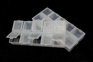 2-pcs-Fly-Tying-Beads-Container-Plastic-Box-10-Compartments-Fly-Fishing-Box