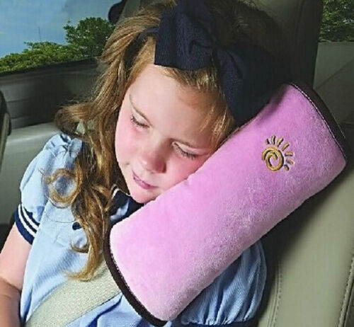 Child Car Safety Seat Belt Pillow Shoulder Strap Pad Cushions Head Support Kids