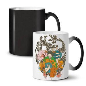 Fantasy Japanese Skull NEW Colour Changing Tea Coffee Mug 11 oz | Wellcoda