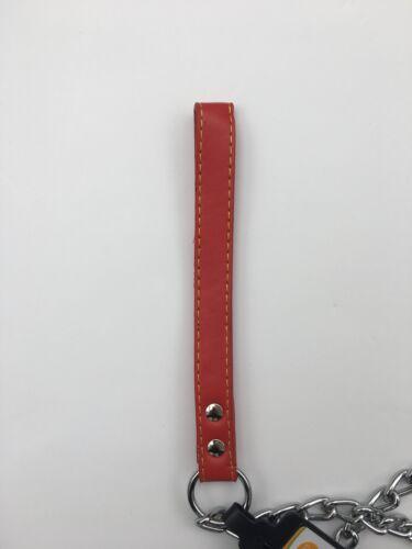 4ft de largo Cadena de Perro Plomo 3 Espesor! Acero de alta resistencia 122cm