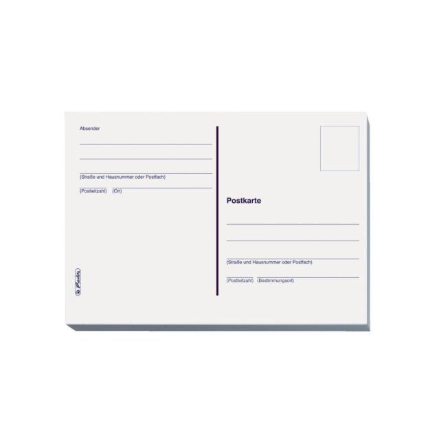herlitz Formular-Buch Rechnung 303 DIN A6 2 x 40 Blatt