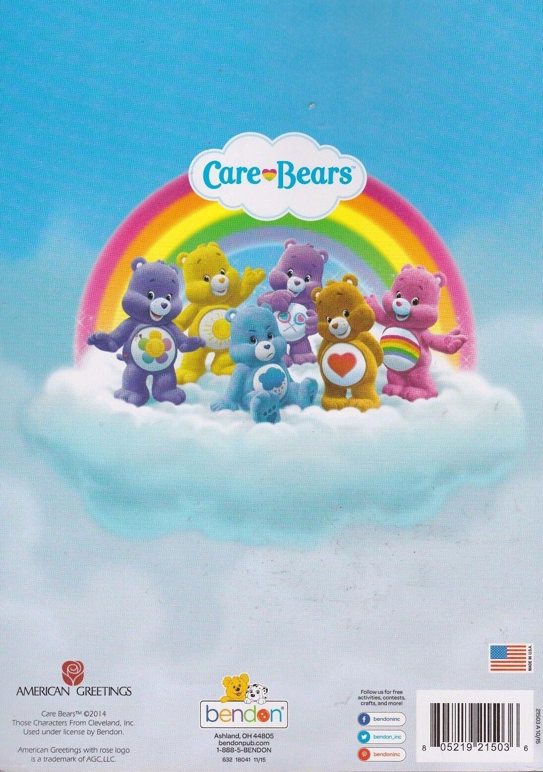 Jumbo Care Bears Pink Coloring And Activity Book From Bendon Ages