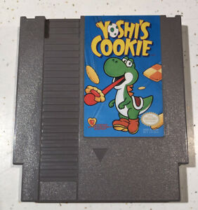 Nintendo-NES-Yoshi-s-Cookie-Video-Game-Cartridge-Authentic-Cleaned-Tested