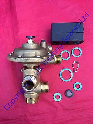 Worcester 230 240 RSF Complete Diverter Valve 87161424190 Brand New