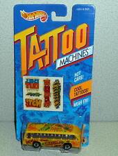 Mattel Hot Wheels Tattoo Machines BUS BOYS #3502 *MOC 1992 Made In China