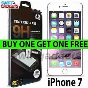 Per-Apple-iPhone-7-100-Genuine-vetro-temperato-pellicola-Proteggi-schermo-NUOVE