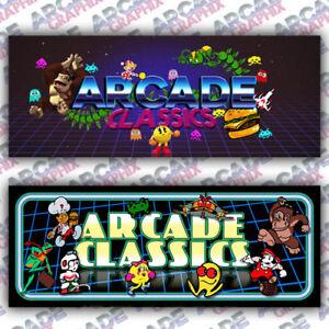 Sensational Details About Multicade Retro Series Arcade Cabinet Game Graphic Artwork Marquee Download Free Architecture Designs Rallybritishbridgeorg