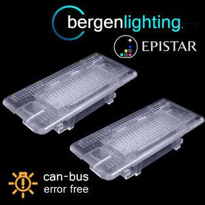 Per-BMW-serie-5-E39-E60-F10-1995-15-24-LED-Bagagliaio-Portaoggetti-Vano-Piedi-Luce-Lampade