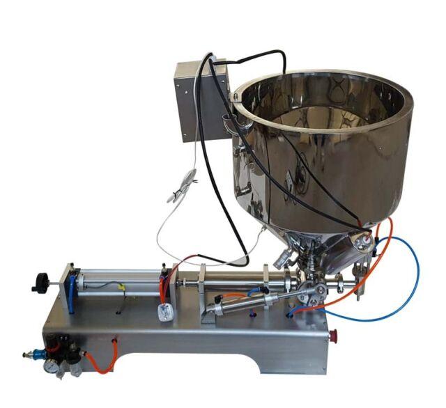 High Quality 110V 10ml-300ml Paste&Liquid Heating Fillng Machine Updated