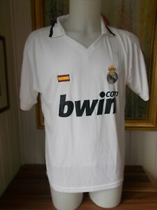 Maillot-foot-football-Real-Madrid-BWIN-taille-L