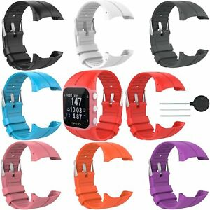 Silicone-wrist-band-strap-for-polar-m400-m430-gps-running-watch-10-colors