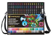 Chameleon Color Color Tones Pens Markers 52 Pc Super Set In Case Ct5201 Bonus