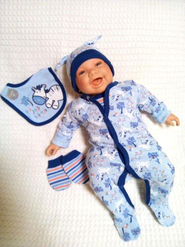 Baby Erstausstattungsset Geschenkset 5-tlg Jungs  Jungle  blau Nb bis 6 Monate