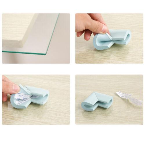 8 pcs Baby Glass Table Desk Safety Edge Corner Cushion Guard Bumper Protector UK