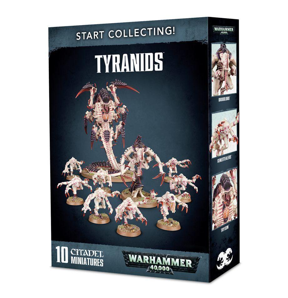 Warhammer 40k Start Collecting Tyranids NIB
