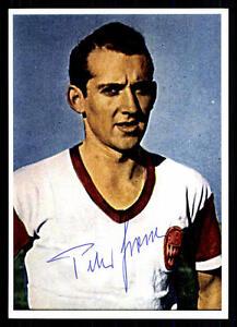 Peter Grosser Autogrammkarte Bayern München Spieler 50er Jahre Original Signiert