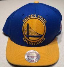 75107edde85 Golden State Warriors Mitchell   Ness NBA Snapback Hat XL Logo 2Tone Cap