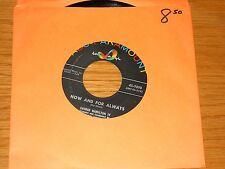 """ROCK & ROLL 45 RPM - GEORGE HAMILTON IV- ABC PARAMOUNT 9898 - """"NOW & FOR ALWAYS"""""""