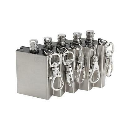 5Pcs/Lot Metal Match Lighter Gas Oil Fire Starter Keychain for Camping Outdoor
