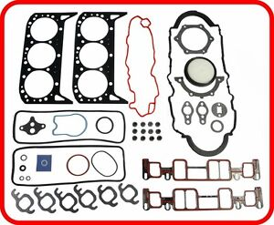 """*FULL GASKET SET*  Chevy Truck S-10 Blazer 262 4.3L V6 VORTEC  /""""W,X/""""  1996-2006"""