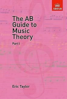 The AB Guide to Music Theory Vol 1 von Eric Taylor | Buch | Zustand gut