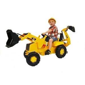 Toddler Toys Cat Front End Loader Backhoe Shovel Pedal Ride On Toy Kids Gifts Ebay