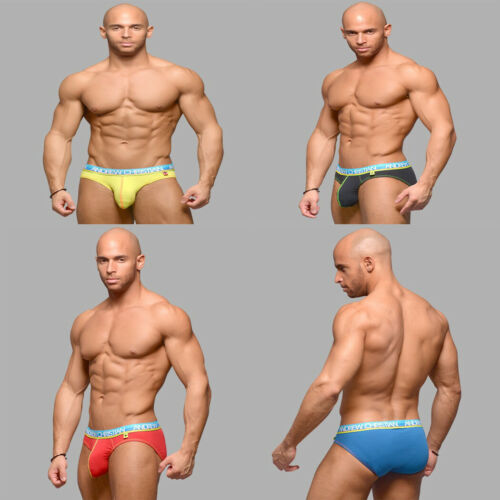Fashion Homme Coton Sous-vêtements Sports Short Taille Basse Ardennes Pouch Boxer Briefs
