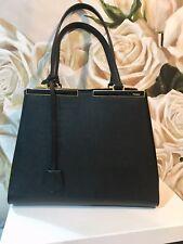 69016f7fd190 FENDI 3Jours Bag - Black Medium Trapeze Tote   Handbag