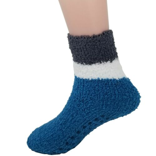 Fuzzy Socks For Kids Toddlers Non Skid Slipper Socks With Grips 6 Pairs