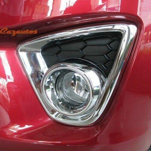 Chrome Front Fog Light Cover Trim Fit Mazda CX-5 CX5 2013-2015