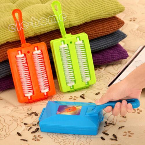 Handheld Carpet Sweeper Crumb Dirt Fur Brush Cleaner Collector Roller Tool ELEHM