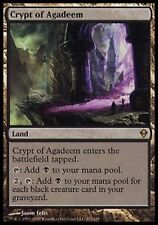 *MRM* ENG Crypte d'Agadeem / Crypt of Agadeem MTG Zendikar