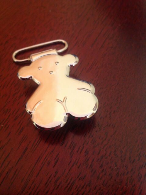 Chupetero pinza  inspirado Logo oso