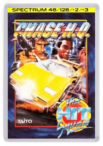 Retro Game Box Art Spectrum 48k Chase HQ Fridge Magnet 128k