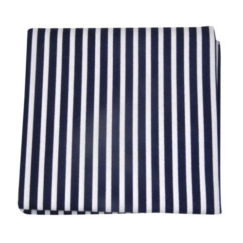 Streifen blau rot Trendiges Stofftaschentuch// Einstecktuch aus Baumwolle