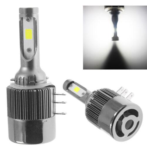 2PCS High Power H15 LED Headlight Bulbs Fog Light  DRL For Ford Transit COB 110w