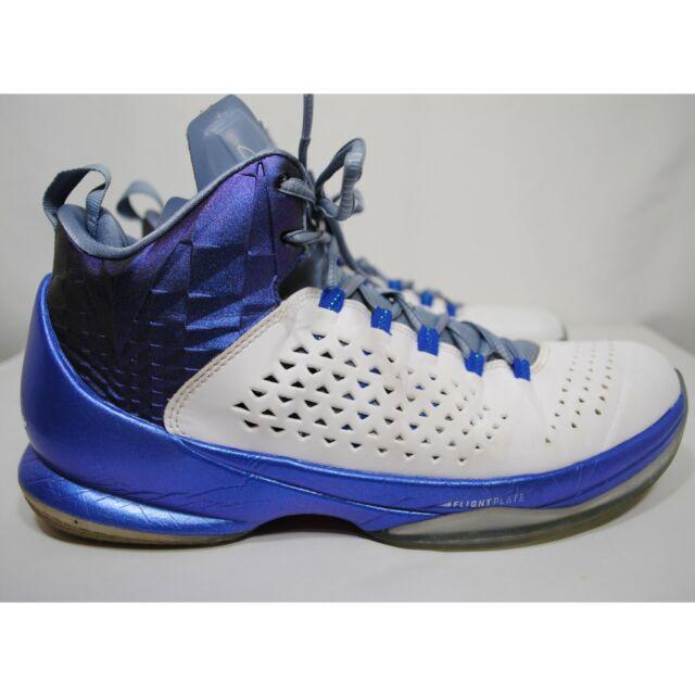 Nike Jordan Melo M11 White Royal Blue Basketball Shoes Mens 716227 105 US10 UK9
