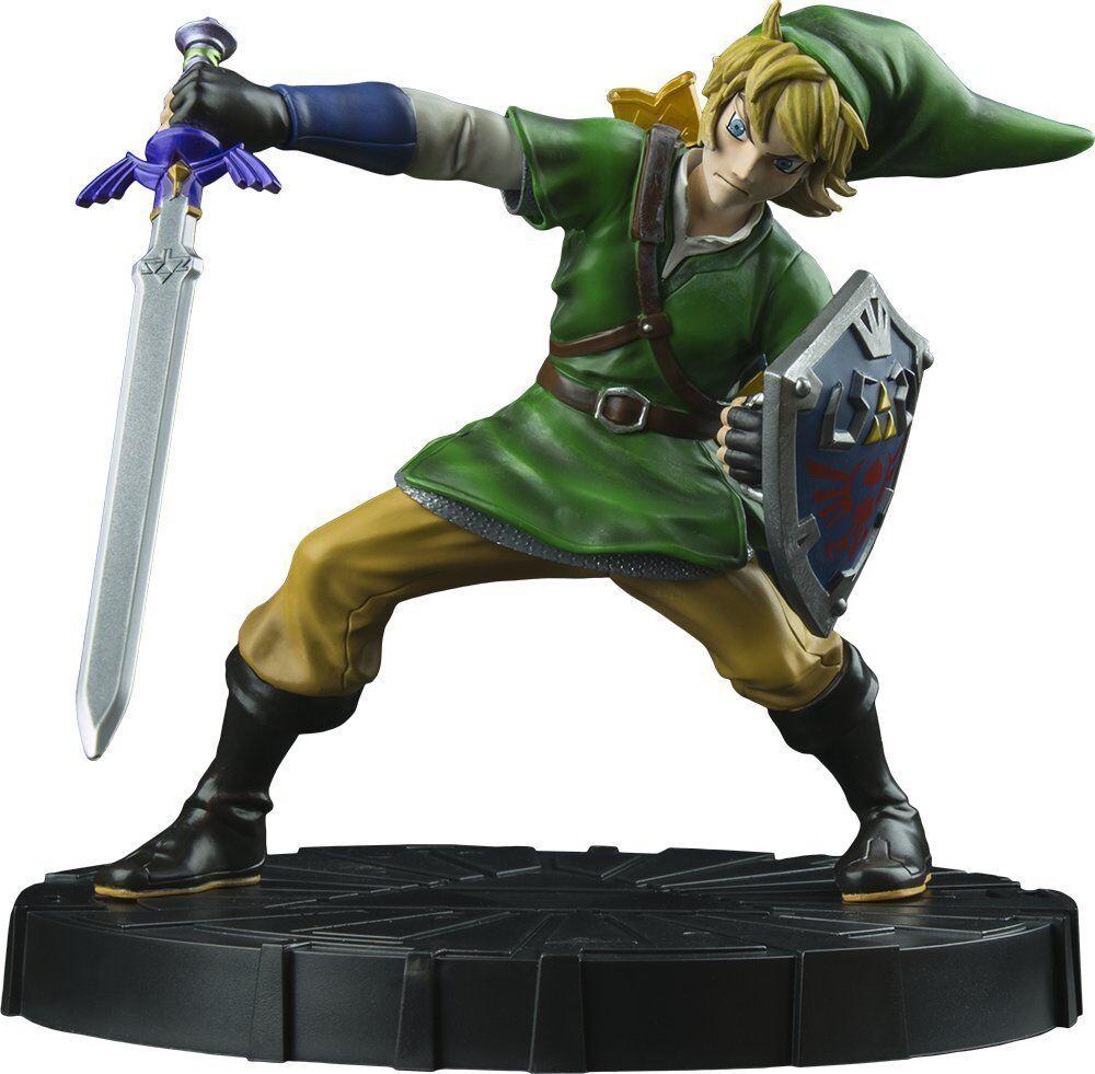 La leggenda di di di Zelda cieloward Sword LINK primi 4 cifra Collezionista Statua NUOVO  320266