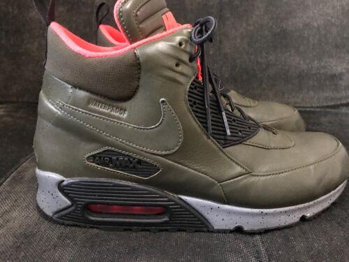 Nike Air Misura impermeabili 9 Uk Khaki Winter 5 Uomo Sneakerboot Shoes qqAdxTr