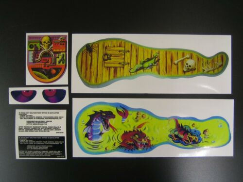 He-Man Snake Mountain replacement Sticker Set