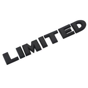 Limited-3d-Autocollant-sticker-voiture-moto-Noir-Sport-Edition-Racing-chrome