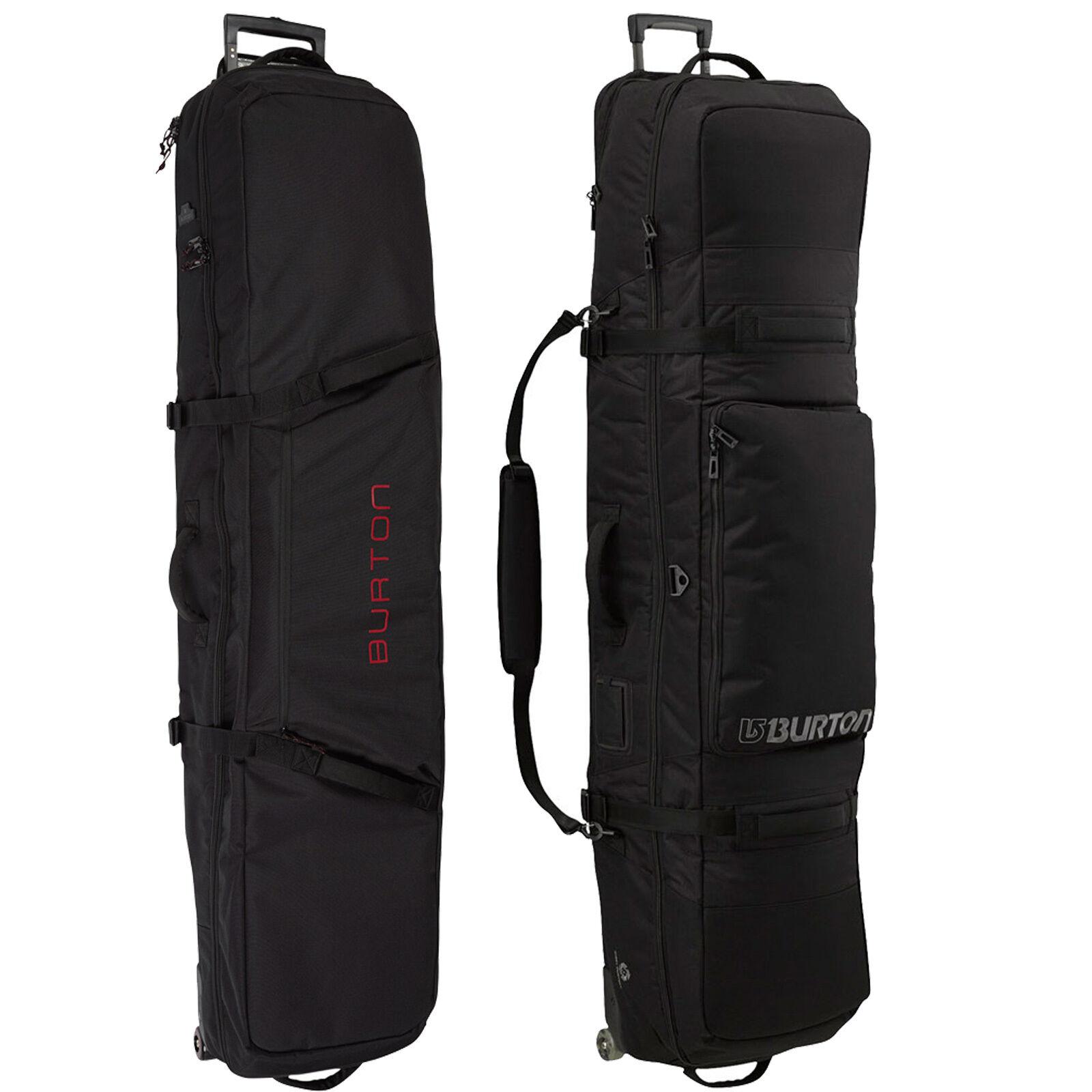 Burton Wheelie Whistle Snowboard Bag Rolling Bag Carrying Bag