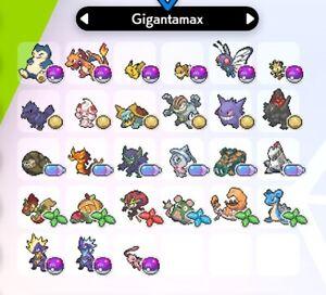 ALL-GIGANTAMAX-SHINY-6IV-EV-trained-PVP-ready-Pokemon-Sword-Shield