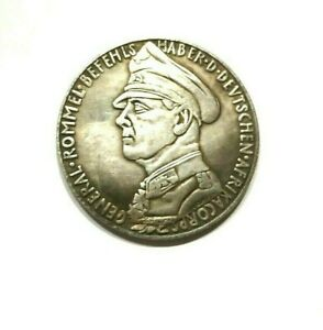 GERMANY MEDAL MARTINUS AND CATHARINA LUTHERS SILVERED EXONUMIA MEMORY TOKEN