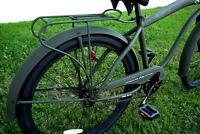 Greenline Universal 26 Steel Beach Cruiser Bicycle Rear Rack Flat Army Green